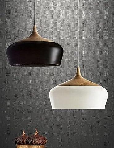 SWENT Moderne einfache/Retro/LED-Pendelleuchten 3W Pendelleuchte, Modern/Contemporary Andere Funktion für LED-Holz/BambooLiving-/Schlafzimmer/Esszimmer/Küche/Studie, 220-240V, Weiß
