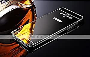 GENERIC Luxury Plated Metal Frame Adds Transparent Acrylic Cover Phone Shell Case for Samsung GalaxyA5 #04473068