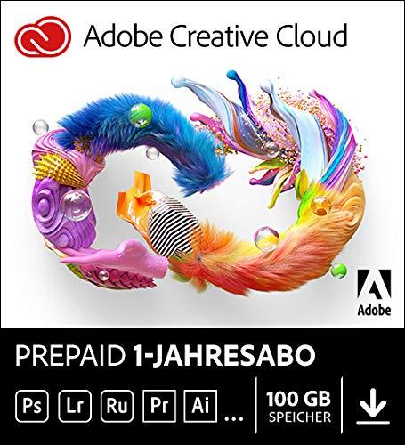 Adobe Creative Cloud All Apps   1 Jahr   PC/Mac   Download