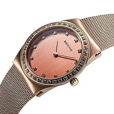 Bering Time 12430-366 - Reloj de cuarzo para mujer, con correa de acero inoxidable, color 0 de Bering Time