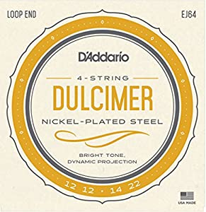 D'addario EJ64 4-String Dulcimer Instrument Strings