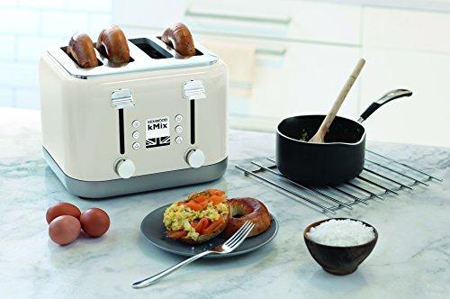 Kenwood kMix TFX750CR 4-Slice Toaster – Cream