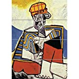 Doppelganger33 LTD Pablo Picasso - The Smoker Wall Art Multi Panel d'affiche 33x47 Pouces