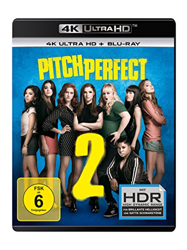 Pitch Perfect 2  - Ultra HD Blu-ray [4k + Blu-ray Disc]