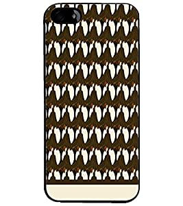 PrintDhaba Pattern D-1515 Back Case Cover for APPLE IPHONE 4 (Multi-Coloured)