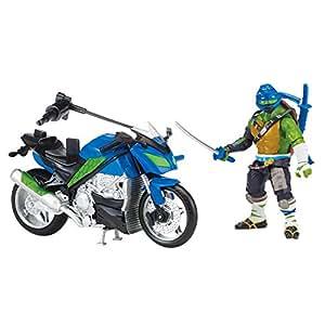 """Teenage Mutant Ninja Turtles """"Movie 2 Leo with Street Speeder"""" Figure"""
