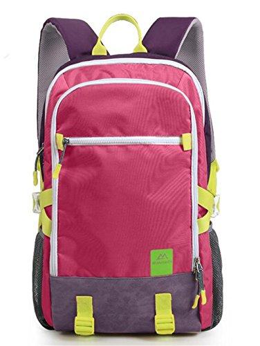 Tempo libero Sport e tempo libero viaggio uomini e donne borsa alpinismo zaino trekking 40L ( Colore : Rose red , dimensioni : 40L ) Rose red