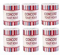 Concord Toilet Tissue Set, White