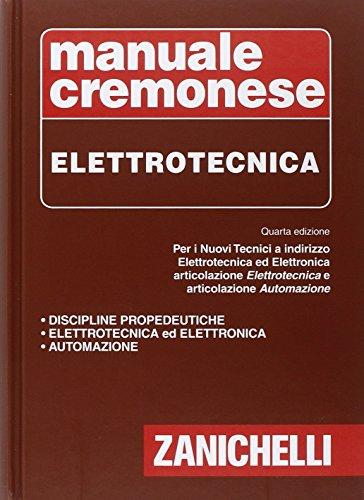 Manuale Cremonese di elettrotecnica