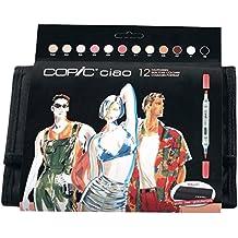 Copic Ciao Manga Marker-Set, Hauttöne, 12 Stück