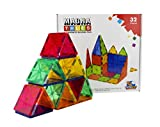 #8: FLYING START Magna Tiles 32 pcs Magnetic Building Blocks Learning and Educational Construction Toys
