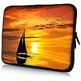 PEDEA Design Tablet PC Tasche 10,1 Zoll (25,6cm) neopren, Ocean Sunset - gut und günstig