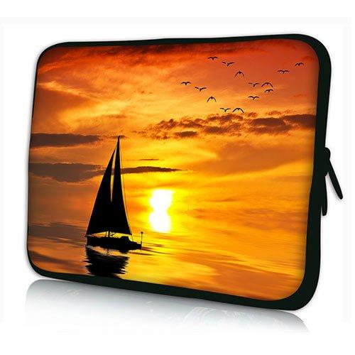 PEDEA Design Schutzhülle Notebook Tasche bis 17,3 Zoll (43,9cm), Ocean Sunset