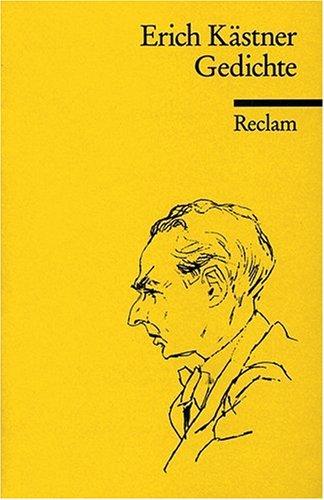 Erich Kästner Gedichte Poesie Büchertreffde