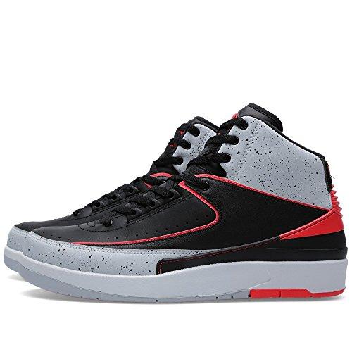 Nike Herren T-Shirt EMEA Oversized Sportswear black/infrared 23-pr pltnm-wht
