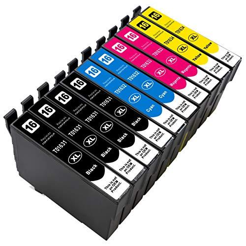ESMOnline 10 kompatible XL Druckerpatronen (4 Farben) Epson Workforce WF 2760DWF 2750DWF 2660DWF 2650DWF 2630WF 2540WF 2530WF 2520NF 2510WF 2010W
