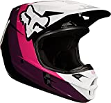 FOX Helmet V-1 Halyn, Black/Pink, Größe S