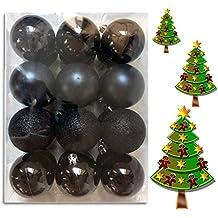 Schwarz Weiße Christbaumkugeln.Suchergebnis Auf Amazon De Für Schwarze Weihnachtskugeln
