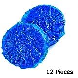 Jiele WC Nettoyant pour meubles Accessoires quotidiens automatique cuvettes Aspirateur propre Toilettes Bloc Bleu...