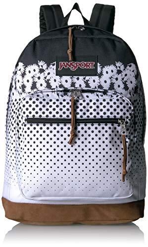 Jansport Right Pack Expressions Floral Horizon Black Backpack (Alle Schwarz Rucksack Jansport)