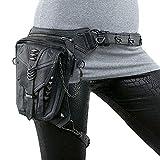 Männer Frauen Mehrzweck Steampunk Drop Bein Arm Bag Pack Hüftgurt Taille Schulter Fanny Packs Tasche Geldbörse Tasche