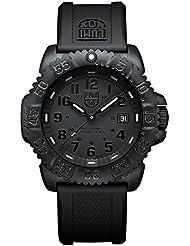 Luminox A.3051.BO - Reloj de pulsera hombre, plástico, color negro