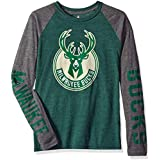 NBA by Outerstuff NBA Youth Boys Fadeaway Long Sleeve Raglan Tee