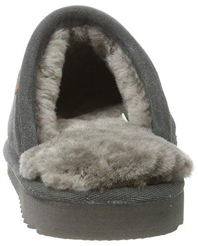 Pantofole Classic Warmbat Unisex Adulti Grigio (grigio Scuro)