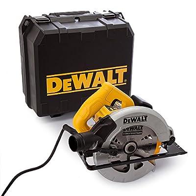 DeWalt DWE560 240V 184mm 65mm Compact Circular Saw in Kitbox