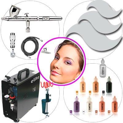 eLITe Airbrush Kit 049 Master Make Up