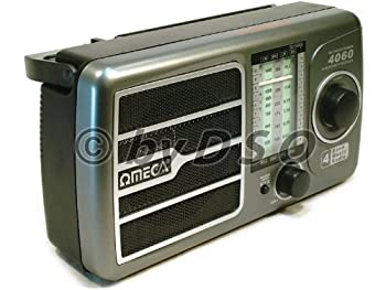 Omega 4 Band Rechargeable Radio 0