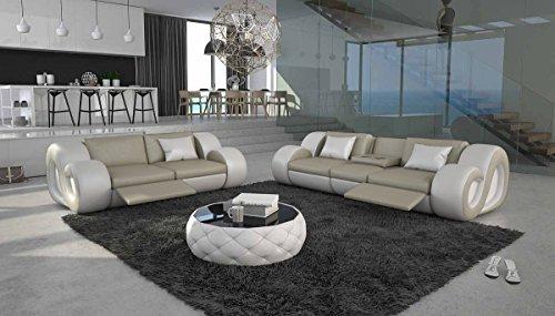 SalesFever Moderne Sofa-Garnitur Tane