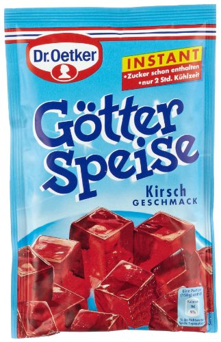 Dr. Oetker Instant Götterspeise Kirsche, 100 g