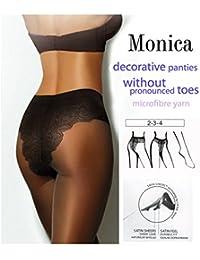 Gatta Monica 20 den Microfibra mit schönem Jacquard-Unterhose