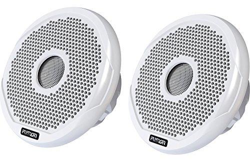 Fusion 2-Wege-Lautsprecher FR6021, für Boote/ Schiffe, 200W, Weiß, 6Zoll (Lautsprecher Wow)