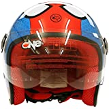 One Casque Junior Spider, 77446825, rouge, M