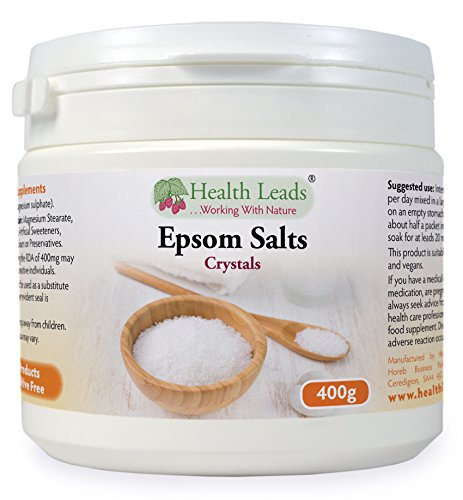Food Grade Epsom Salts 400g (Magnesium Sulphate)
