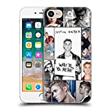 Official Justin Bieber Grid Poster Purpose Hard Back Case for Apple iPhone 7 / iPhone 8