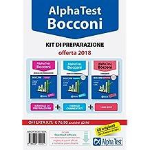Alpha Test. Bocconi. Kit di preparazione. Con software di simulazione: 1
