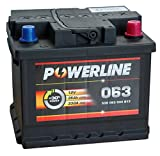 063 Powerline Autobatterie 12V