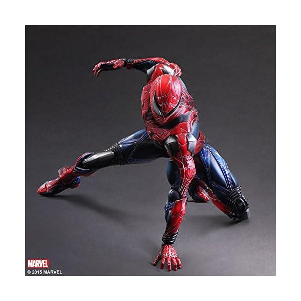 Square Enix Spiderman Marvel Universe Play Arts Kai Figura de acción 3