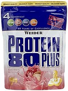 Weider 80 Plus Protein, Kirsch-Mandel, 500g Beutel