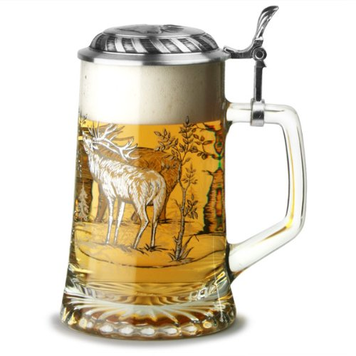 sternbodenseidel-stag-beer-stein-176oz-500ml-50cl-beer-glass-glass-tankard-with-pewter-lid-from-arti