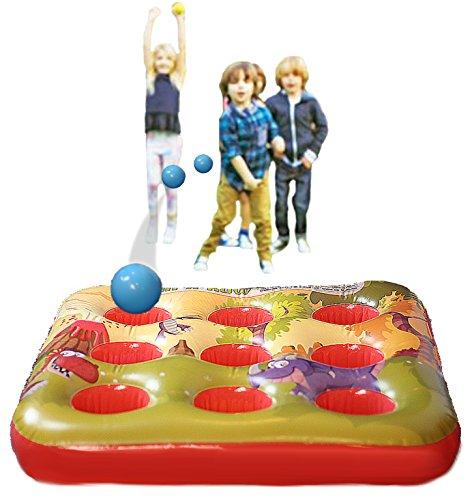 Gioco gonfiabile della palla dell'obiettivo Kreative Kraft per i giochi di estate all'aperto del partito dei bambini per la ragazza del ragazzo 3 in un giocattolo del giardino di Inflatables di fila