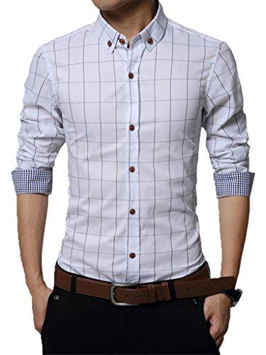 Gfirmament Herren Freizeit-Hemd, weiß