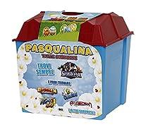 La Pasqualina è un magico contenitore con tantissime sorprese che renderanno felici i bambini! Trovierai sempre un prodotto di Slug Terra per ricreare le avvincenti avventure viste in TV! All'interno dell'uovo sono contenute altre sorprese, t...