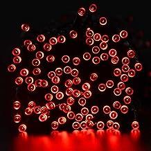 lederTEK Energia Solare Impermeabile Leggiadramente Luci Stringa di 22m 200 LED 8 Modi di Natale Lampada Decorativa per All