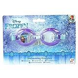 Kinder-Schwimmbrille mit kratzfester Beschichtung, verstellbare elastische Träger, Frozen