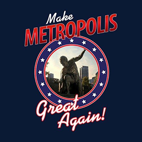 Make Metropolis Great Again Superman Women's Vest Navy blue
