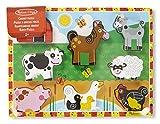 Melissa & Doug 13723 - Holzklotz-Puzzle, Tiere Auf Dem Bauernhof